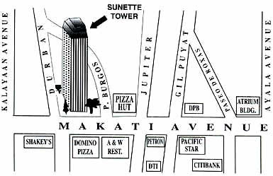 Sunnette Tower Map
